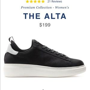 The Greats Alta Low Top Sneakers - Size 9